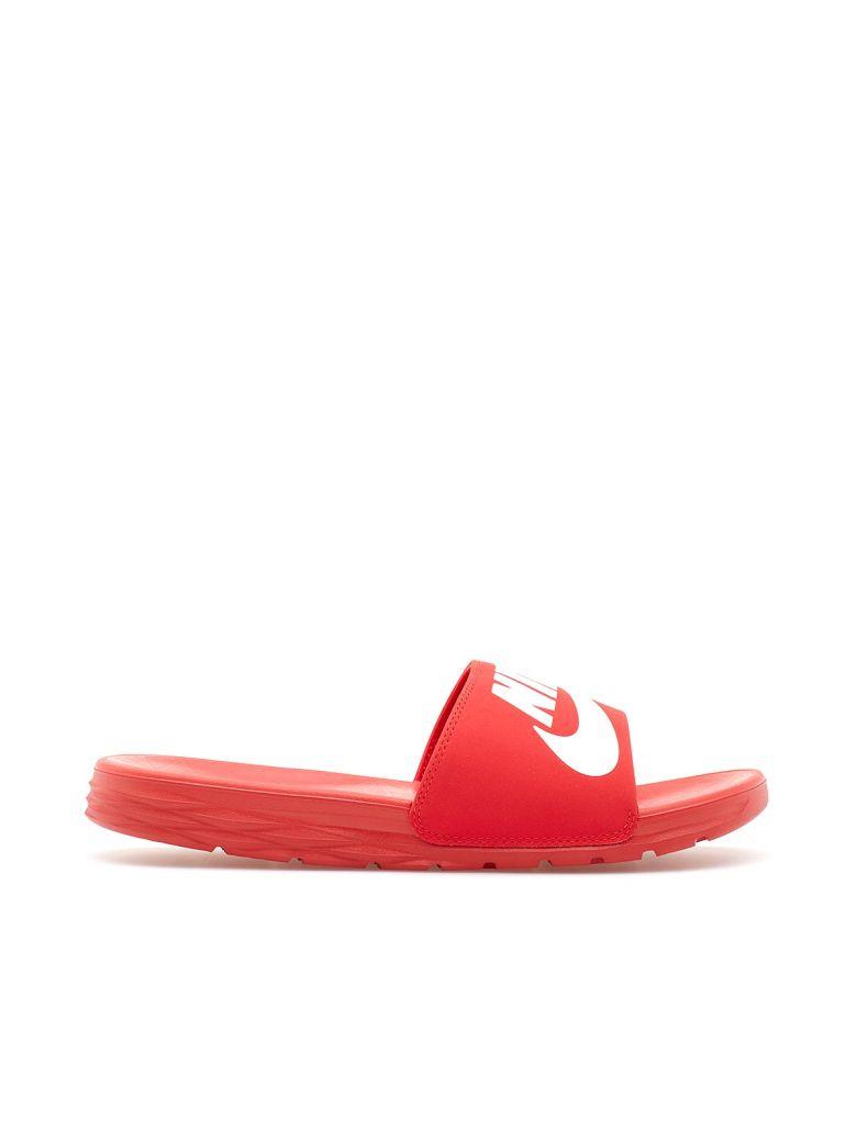 7f73837004890 Nike Benassi Solarsoft Slippers In Red