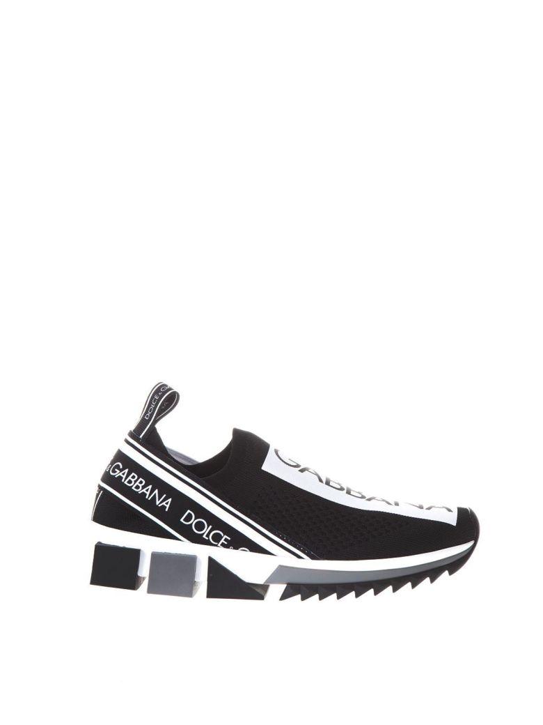 Black Sorrento Slip-On Sneakers Dolce & Gabbana N4BksAmacb