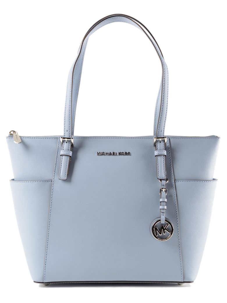 ad0db46b5c26 Michael Kors Jet Set Item Tote Bag In Pale Blue | ModeSens