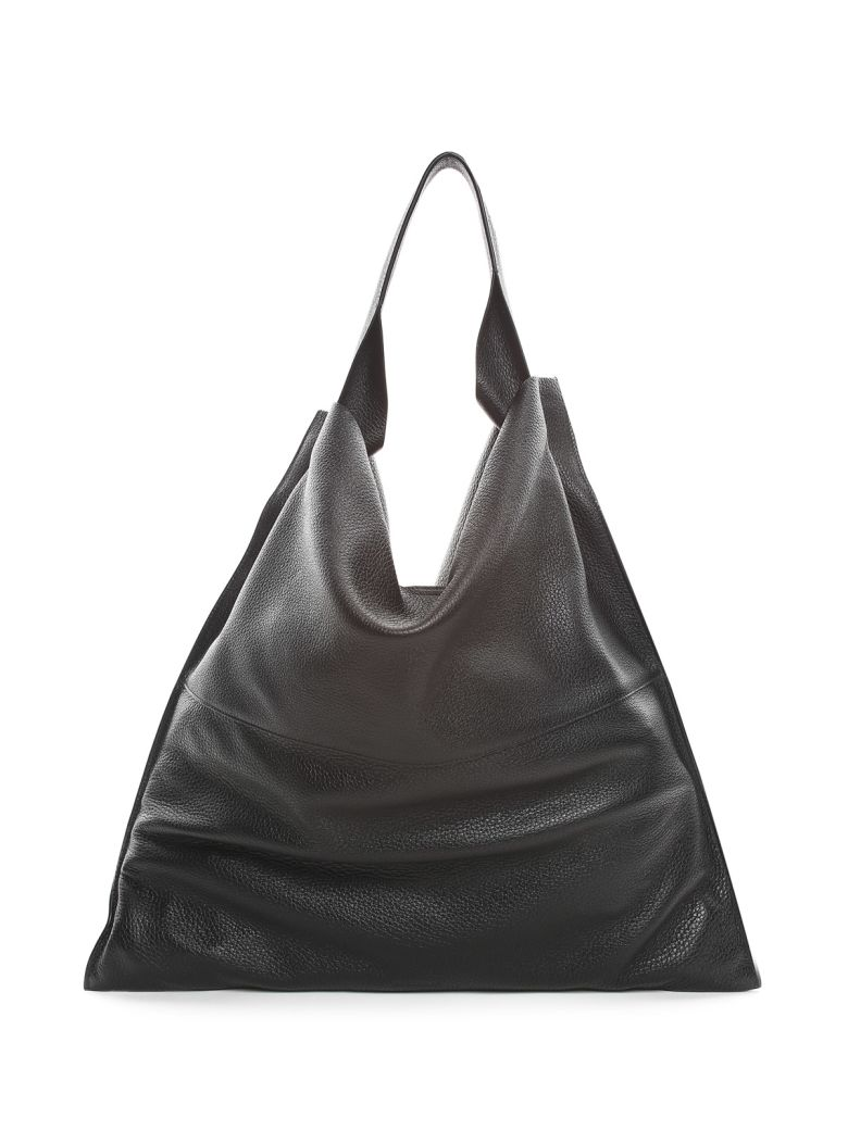 XIAO MD GRAINED-LEATHER SHOULDER BAG