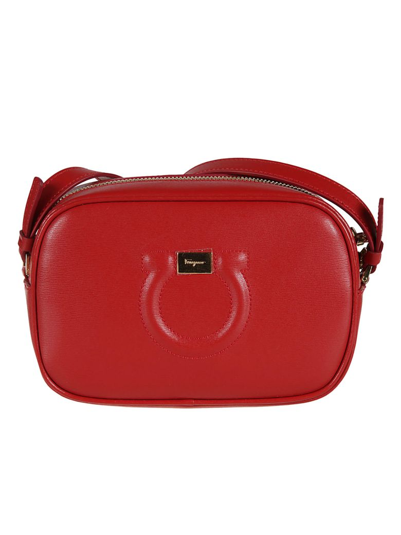f216f68475 SALVATORE FERRAGAMO GANCINI CAMERA BAG