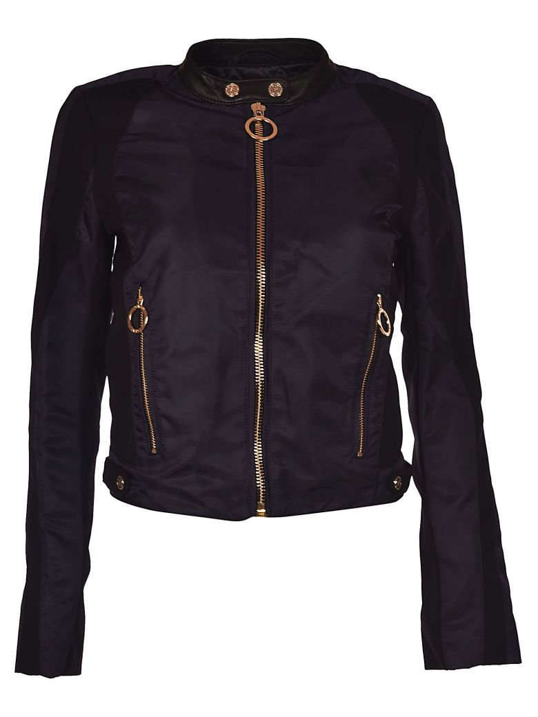 TOMMYXGIGI Paneled Jacket in Midnight/Multi