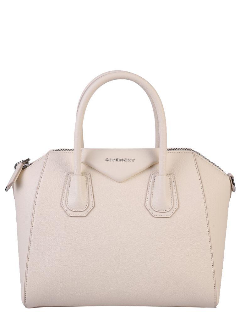 WHITE SMALL ANTIGONA BAG