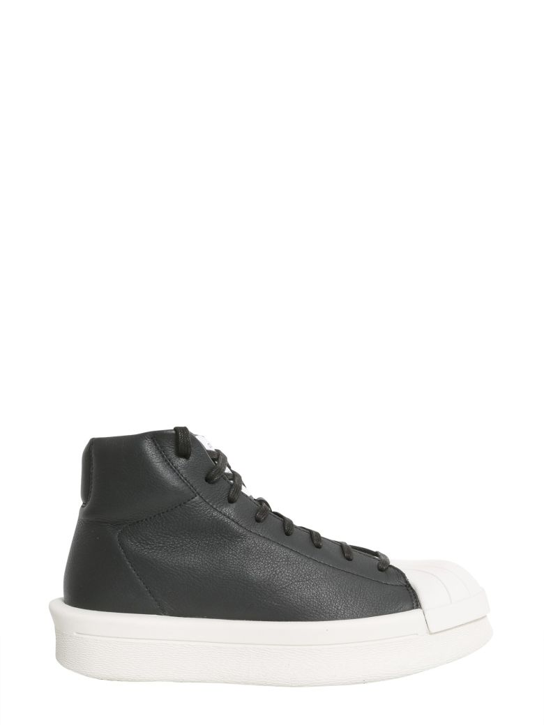 ADIDAS BY RICK OWENS Leather Mastodon Sneakers, Nero