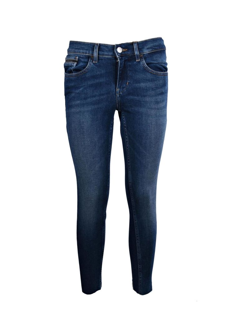 Calvin Klein Jeans Est.1978 Cottons CROPPED SKINNY JEANS
