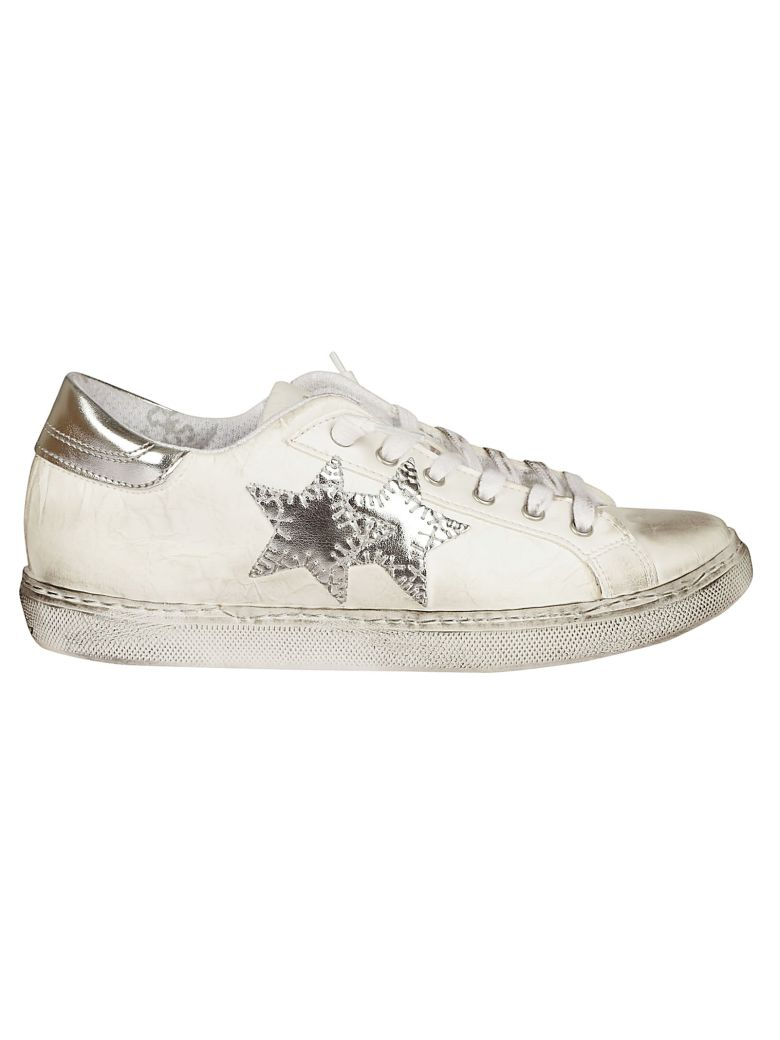 2STAR STAR PATCH SNEAKERS