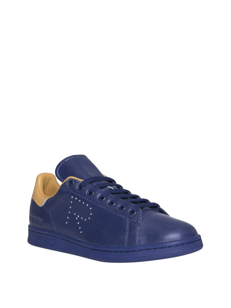 5c9d69f687ab Raf Simons + Adidas Originals Stan Smith Leather Sneakers - Navy ...
