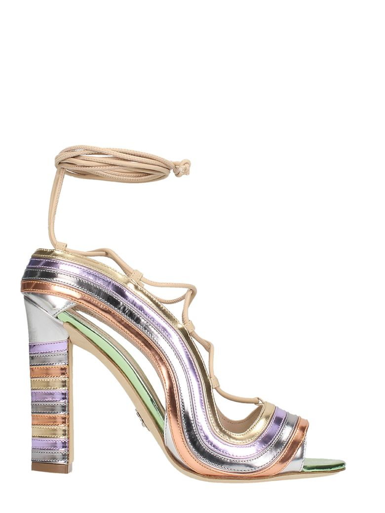 Paula Cademartori CRAZY STRIPES METALLIC RAINBOW
