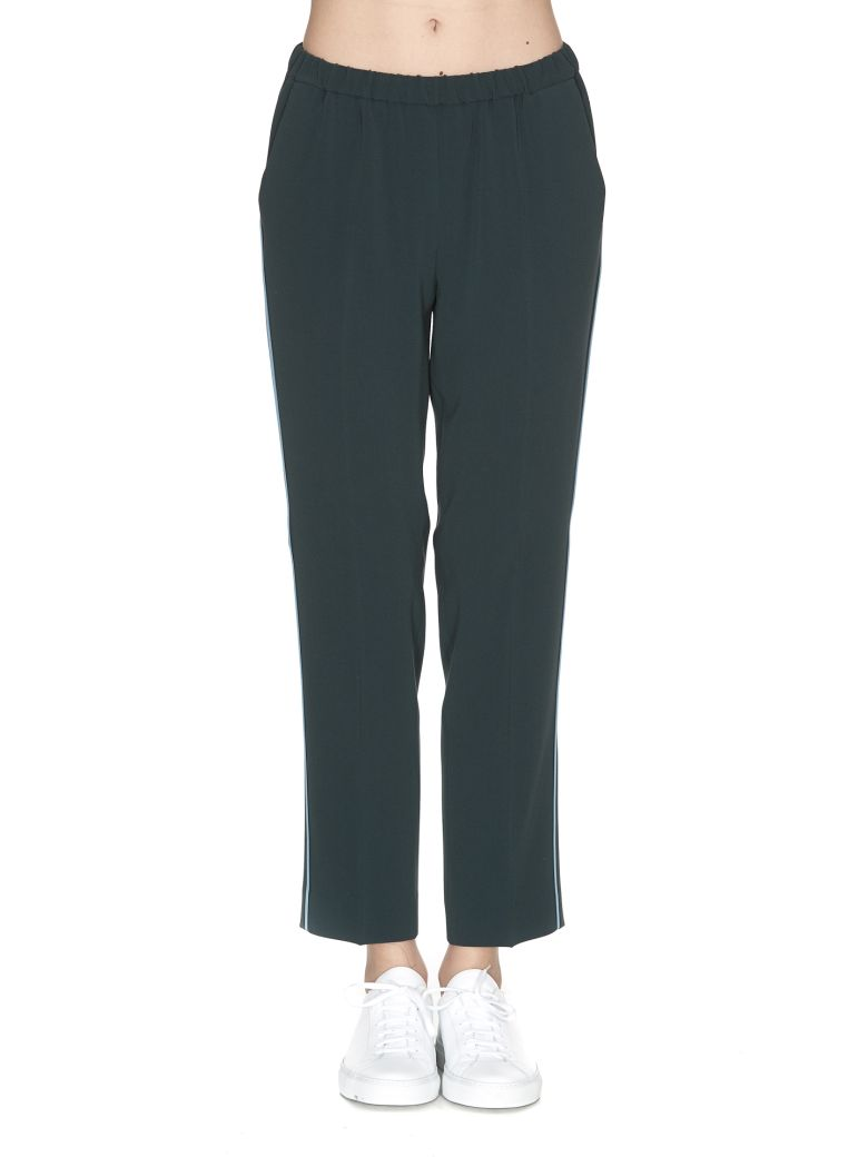 ALBERTO BIANI LOOSE-FIT TROUSERS