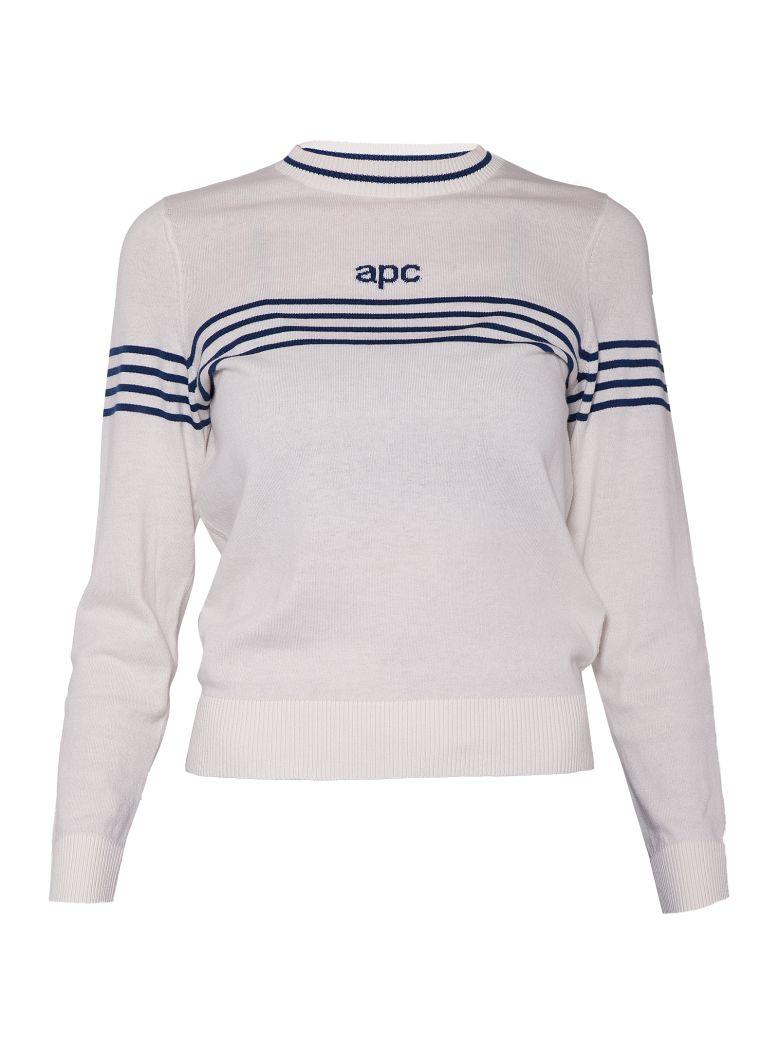 A.P.C. APC PRINTED SWEATSHIRT