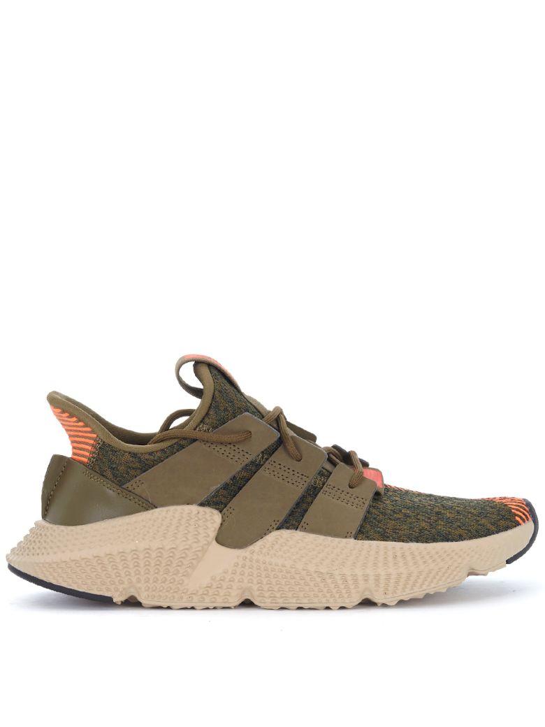 Adidas originali prophere verde e arancione a scarpa, verde