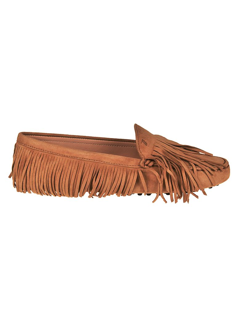FRINGED GOMMINO LOAFERS