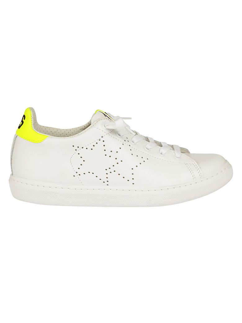 2STAR STAR PERFORATED SNEAKERS