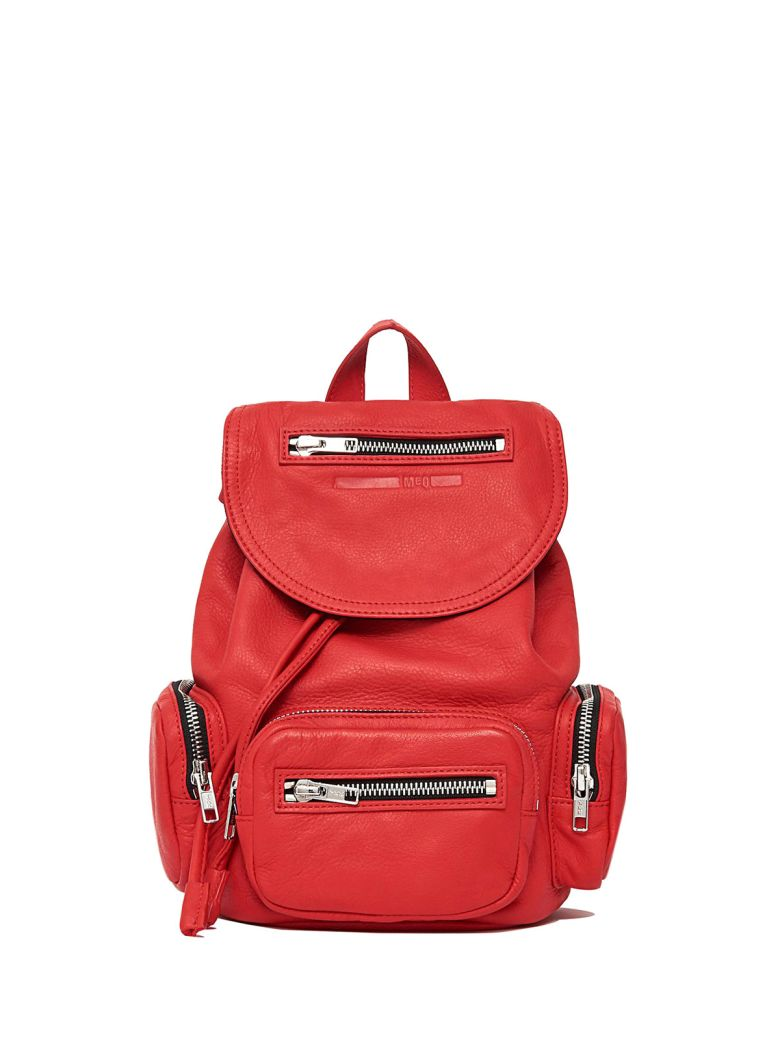 MINI LOVELESS SMOOTH-LEATHER BACKPACK