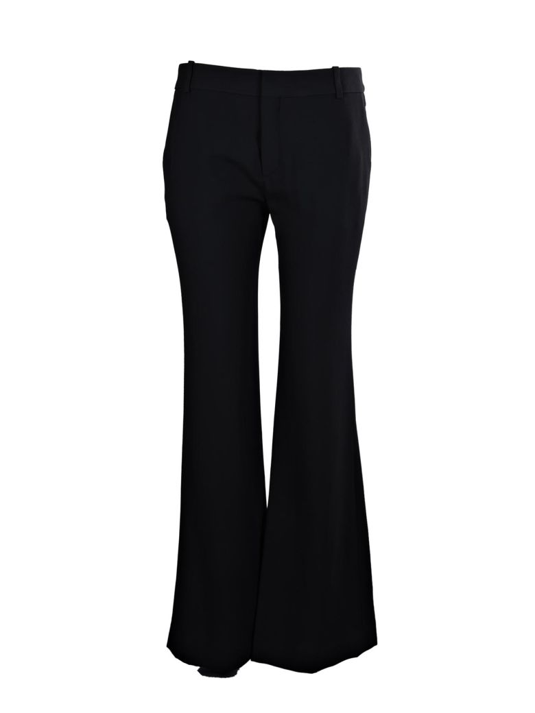 wide leg trousers - Black Chlo qPe4Yd