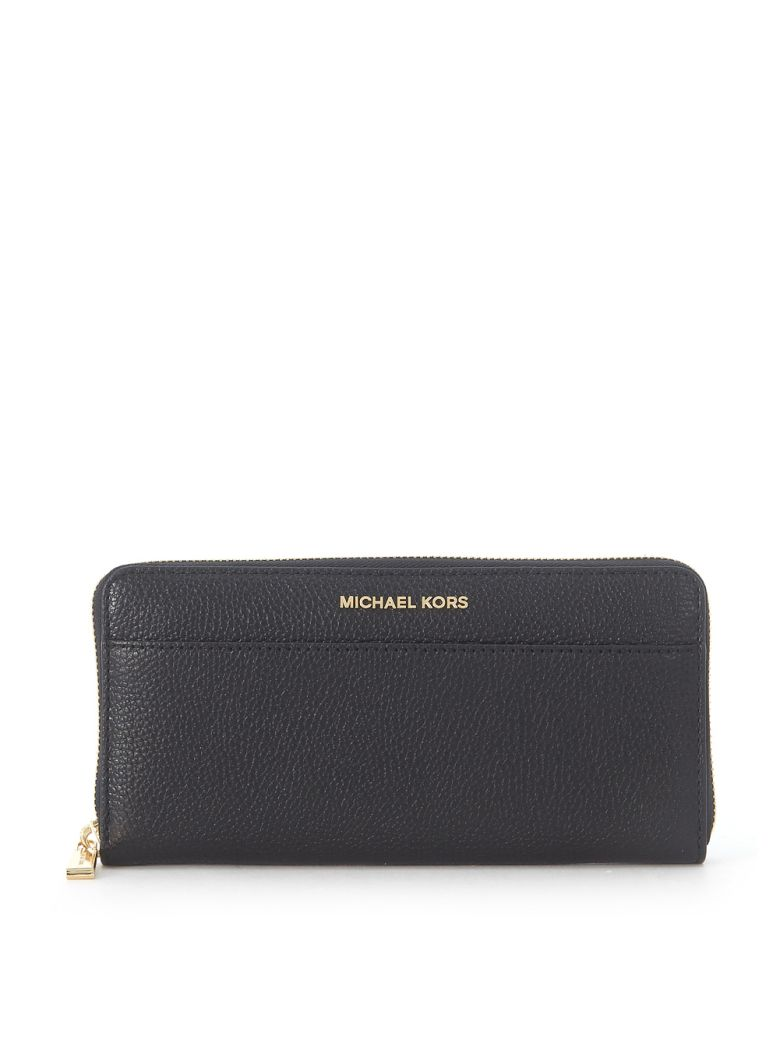MERCER BLACK SAFFIANO LEATHER WALLET