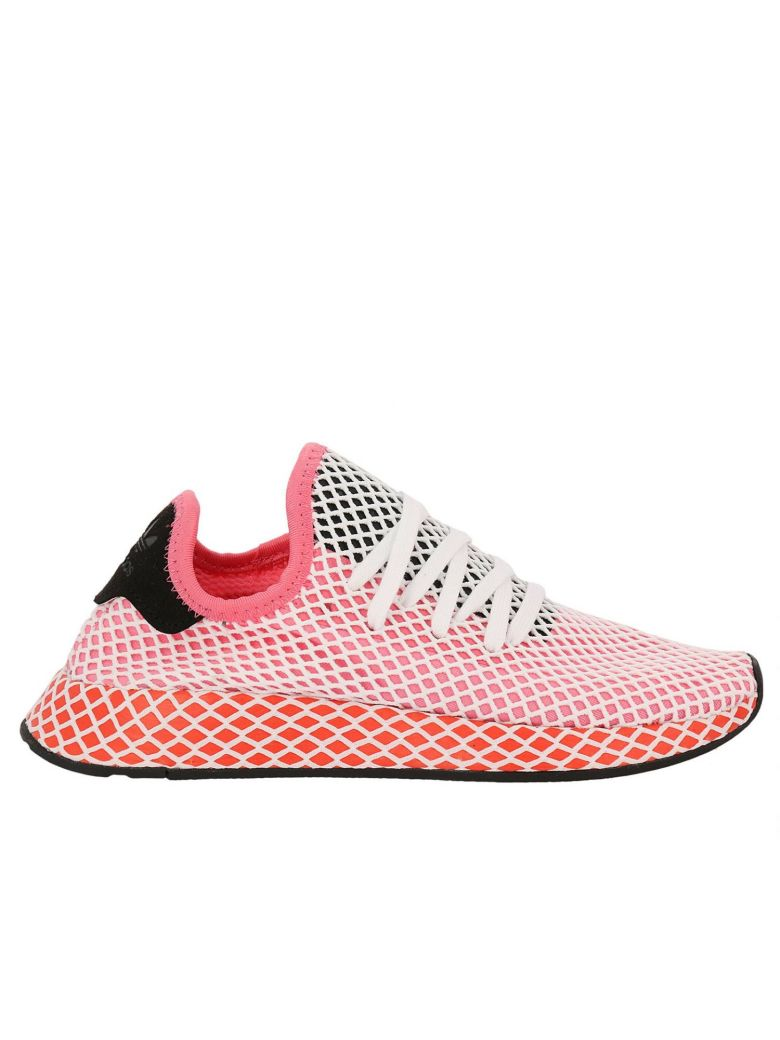 new concept 79572 4ed55 Adidas Originals Sneakers Adidas Deerupt Runner W Sneakers In Knit And Mesh  Stretch Net Effect In