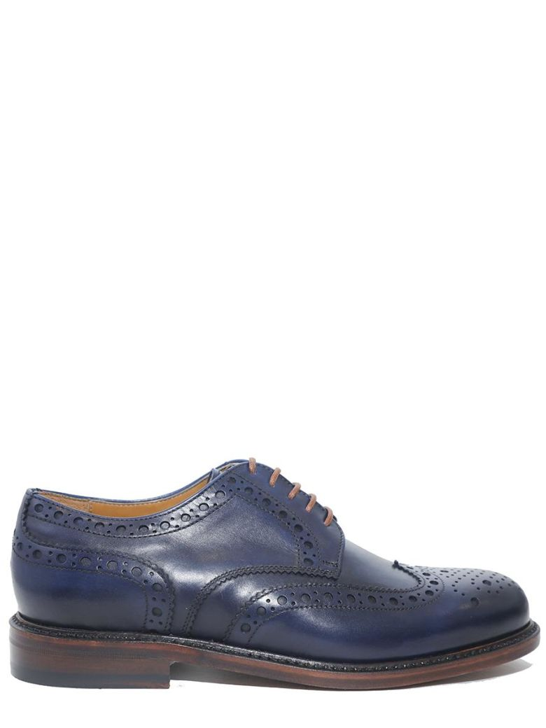 BERWICK - DERBY LACE-UP IN SMOOTH LEATHER WITH GOODYEAR PROCESSING