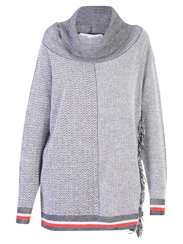 GREY OVERSIZED SWEATER