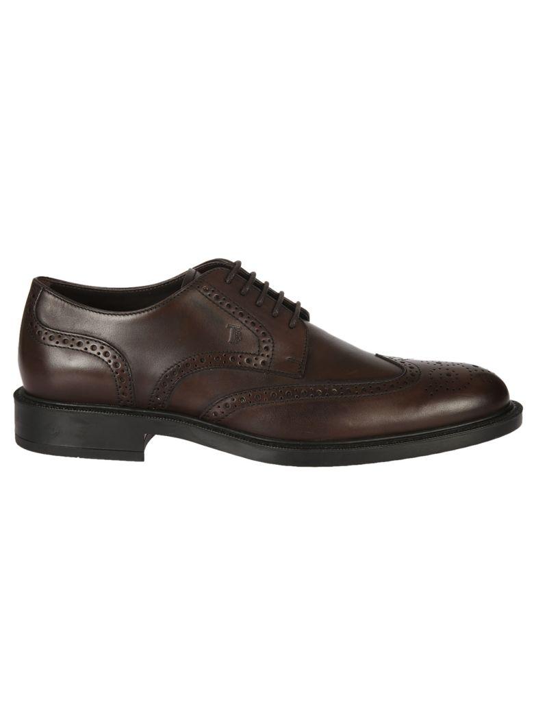 Classique Chaussures À Lacets Tod - Marron 5ysrvb