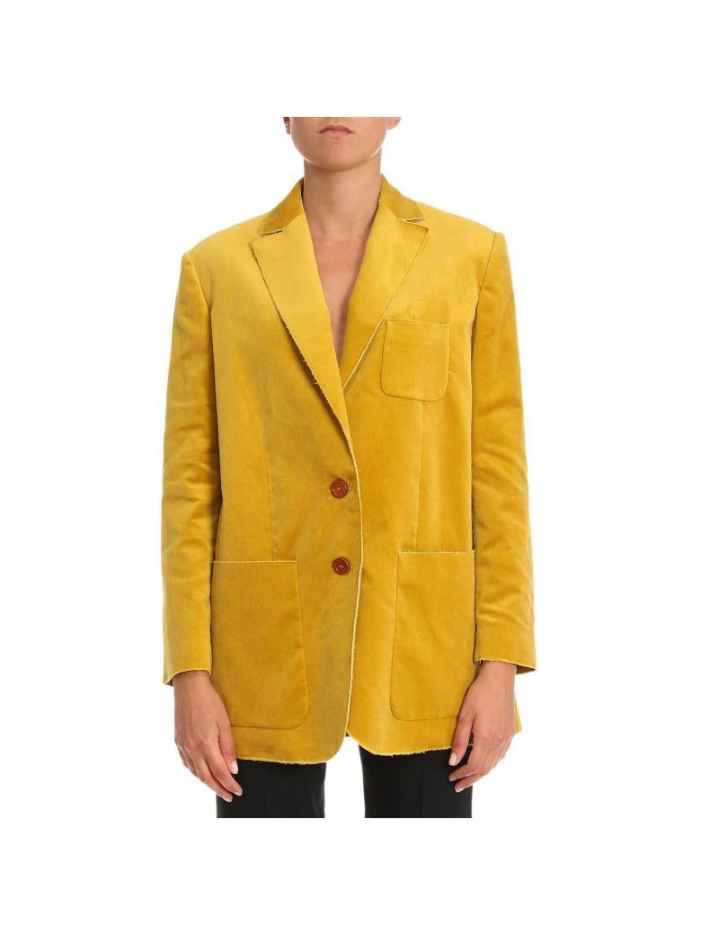 Blazer Blazer Women M Missoni, Yellow