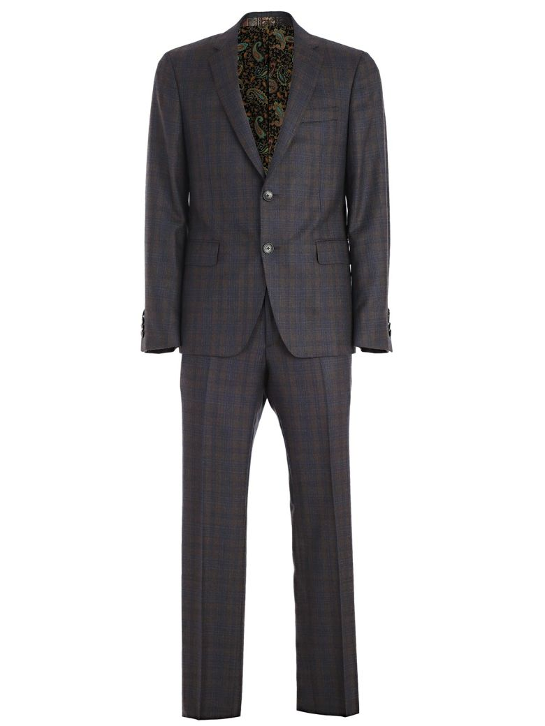 CHECKED PATTERN SUIT