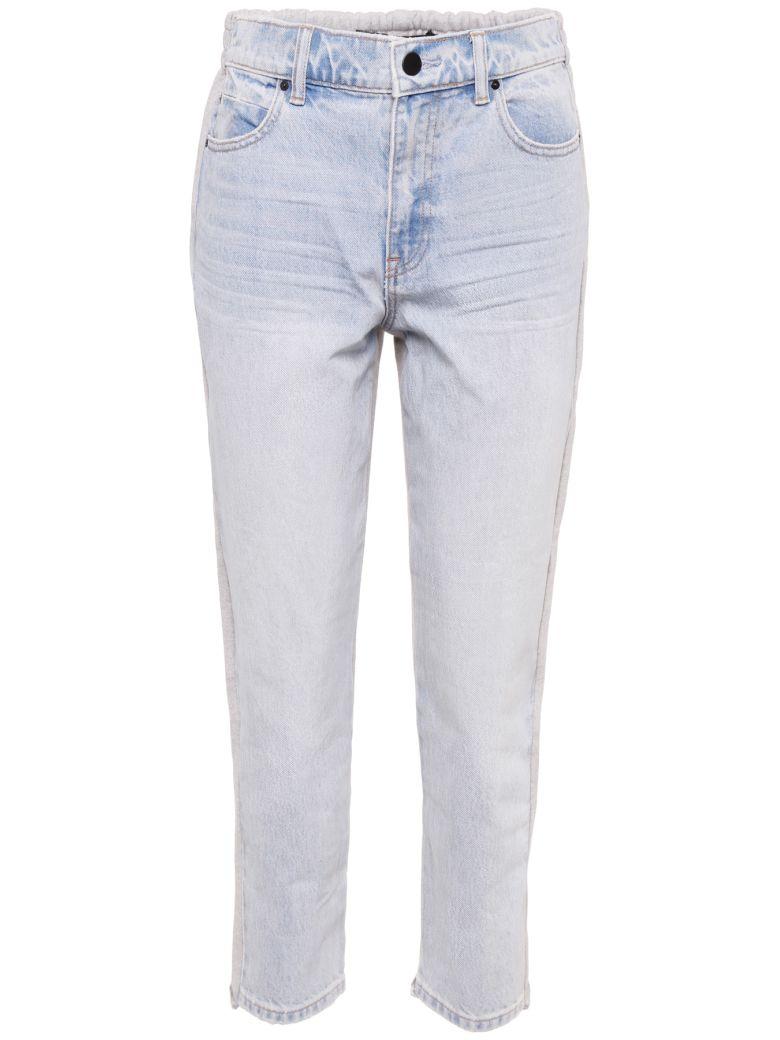 Alexander Wang Denim And Jersey Jeans - BLEACH|Blu