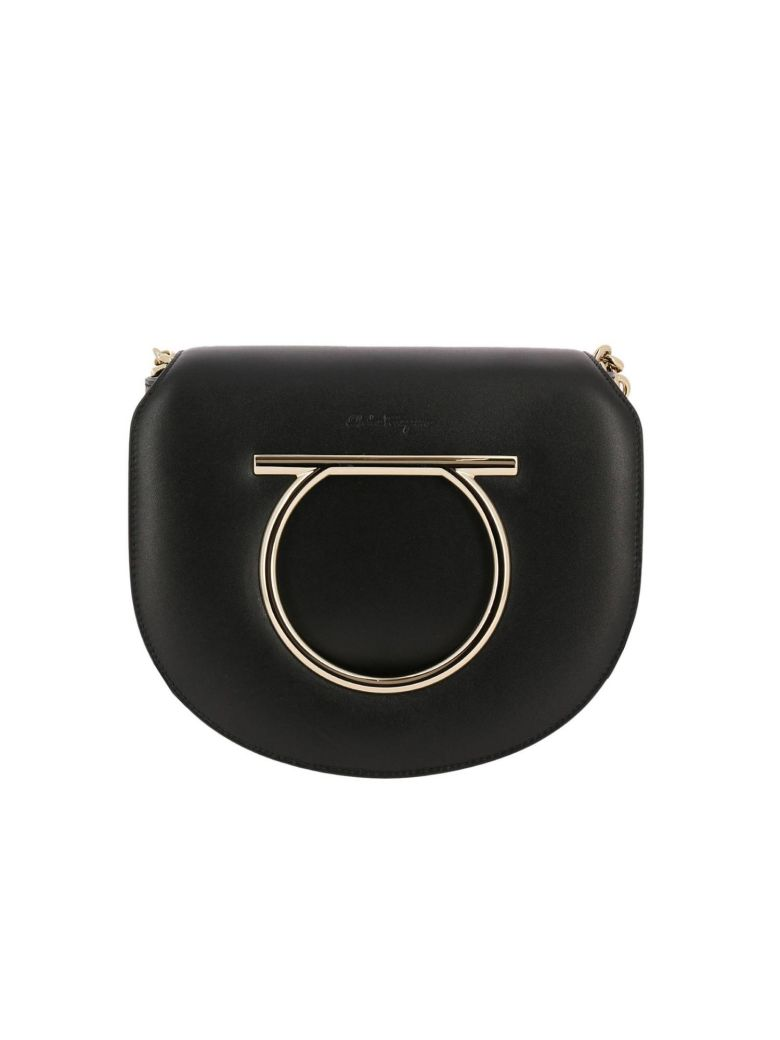 231209b76e82 Salvatore Ferragamo Mini Bag Shoulder Bag Women In Black ...