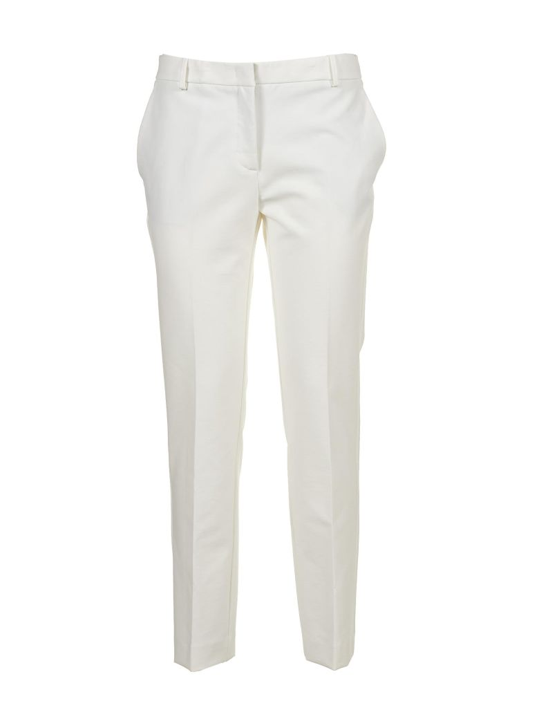 KILTIE & CO. Kiltie Tailored Trousers in Bianco