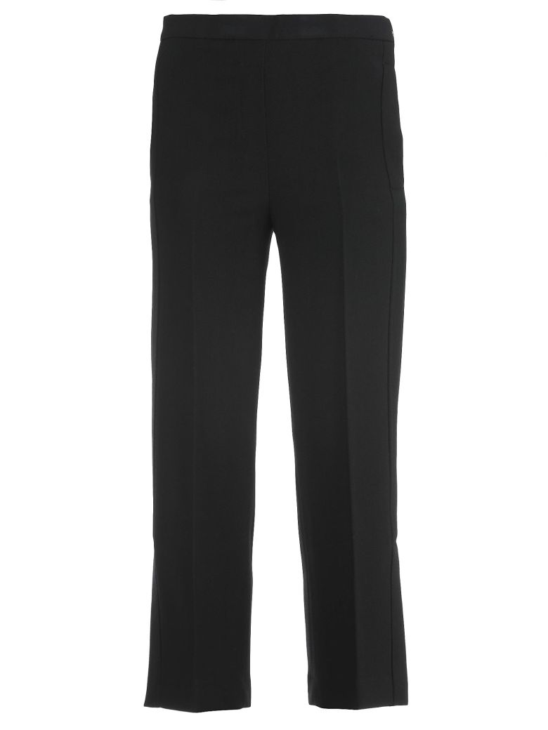 Tailor-Cut Trouser in Black