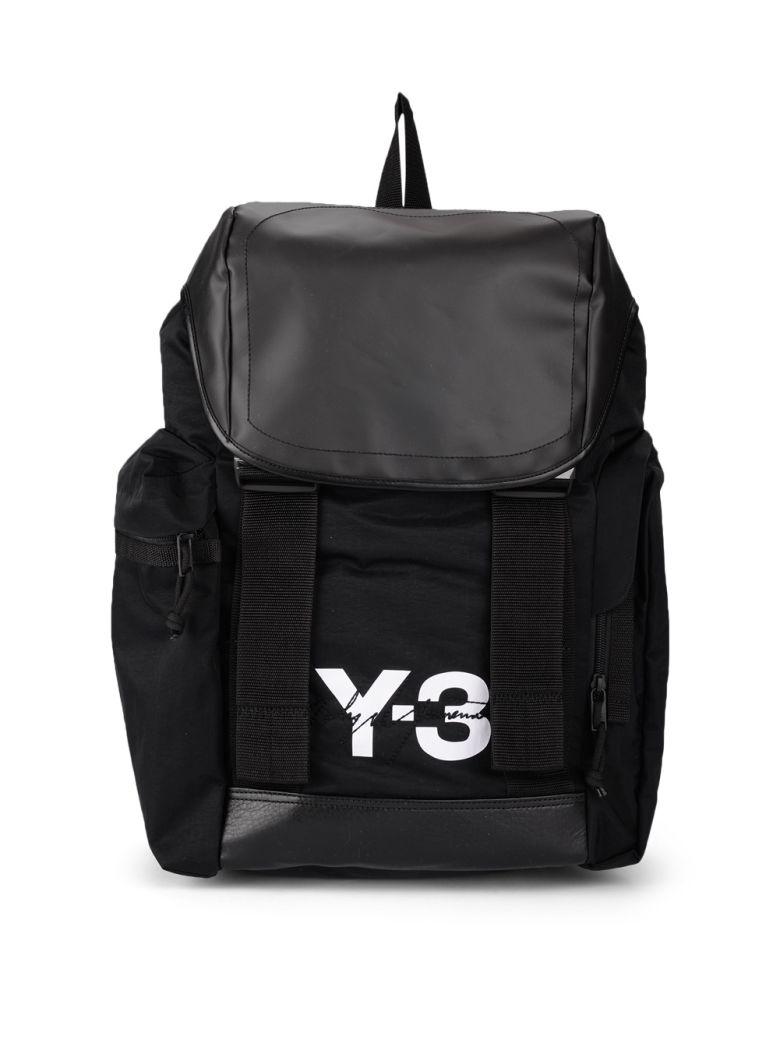 y-3 mobility bag black nylon backpack