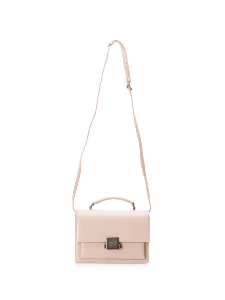 M BELLECHASSE BAG IN PINK LEATHER