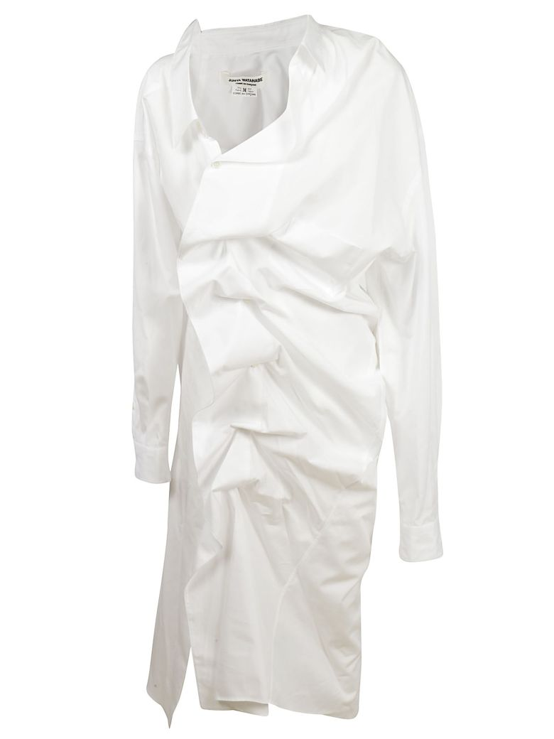 Junya Watanabe Ruched Shirt Dress Modesens