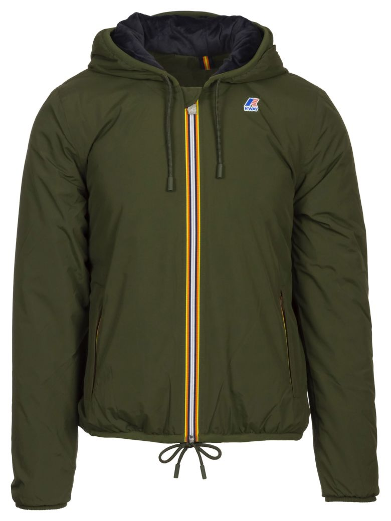 K-WAY JACQUES RIPSTOP MARMOTTA JACKET