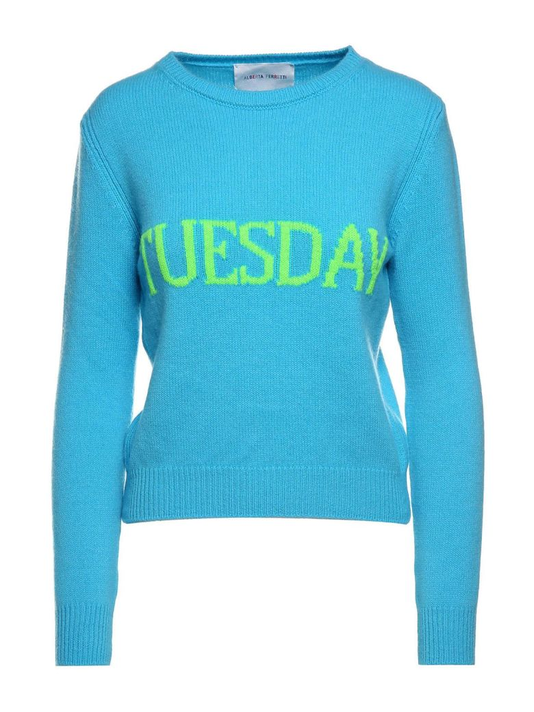 TUESDAY WOOL AND CASHMERE-BLEND JUMPER