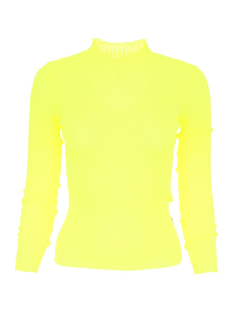 RIBBED FLUO KNIT
