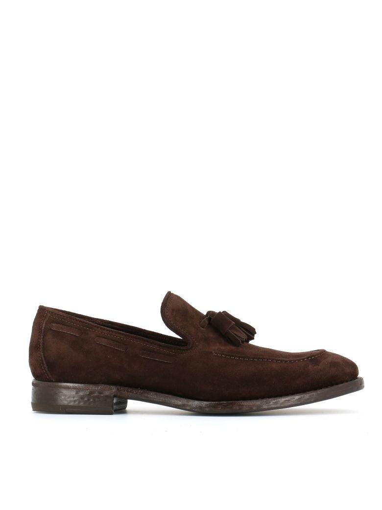 """HENDERSON Tassel Detail Loafers """"51405"""" in Brown"""