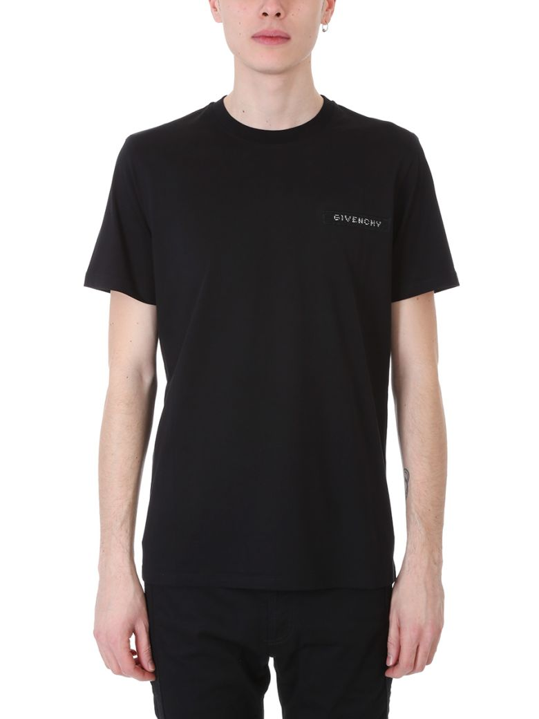Givenchy Cottons BLACK T-SHIRT IN SOFT JERSEY COTTON