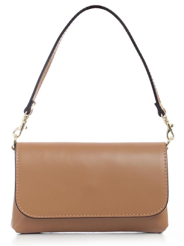ALMALA Shoulder Bag in Cognac