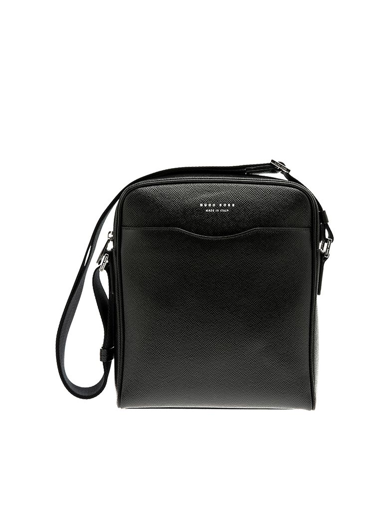 785fe1312ed5 Hugo Boss Leather Crossbody In Black