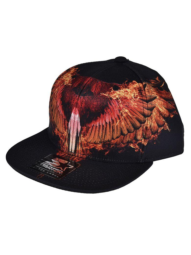 Marcelo Burlon County Of Milan  FLAMES CAP