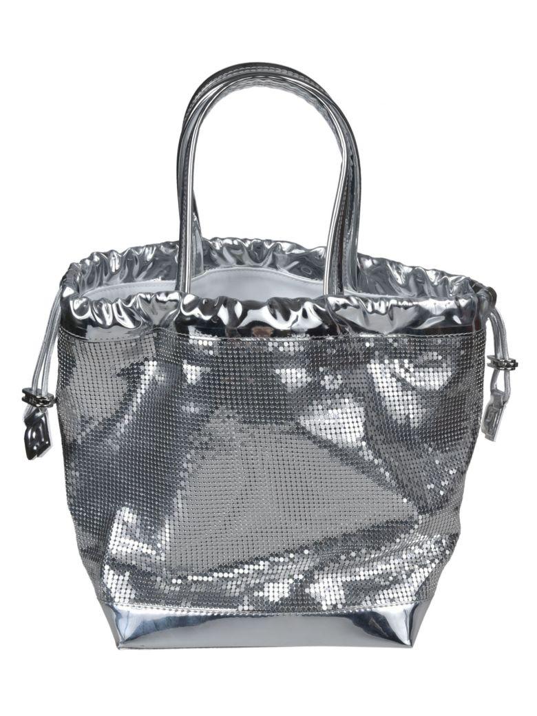 MIRRORED BUCKET BAG