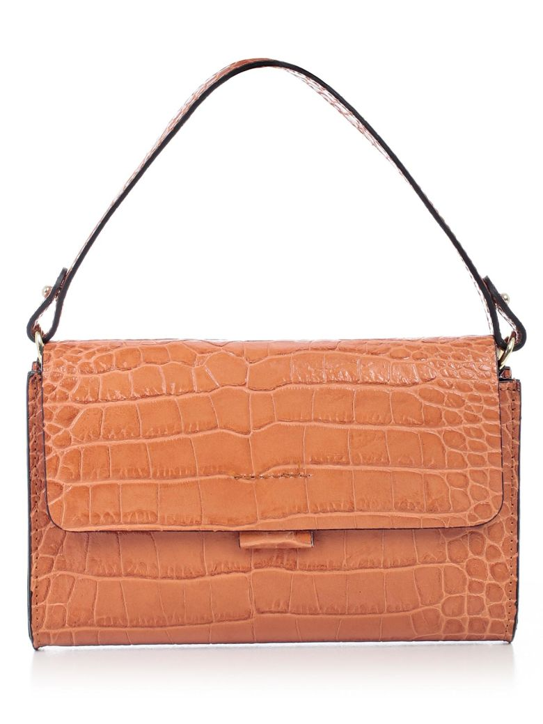 ALMALA Clutch in Orange