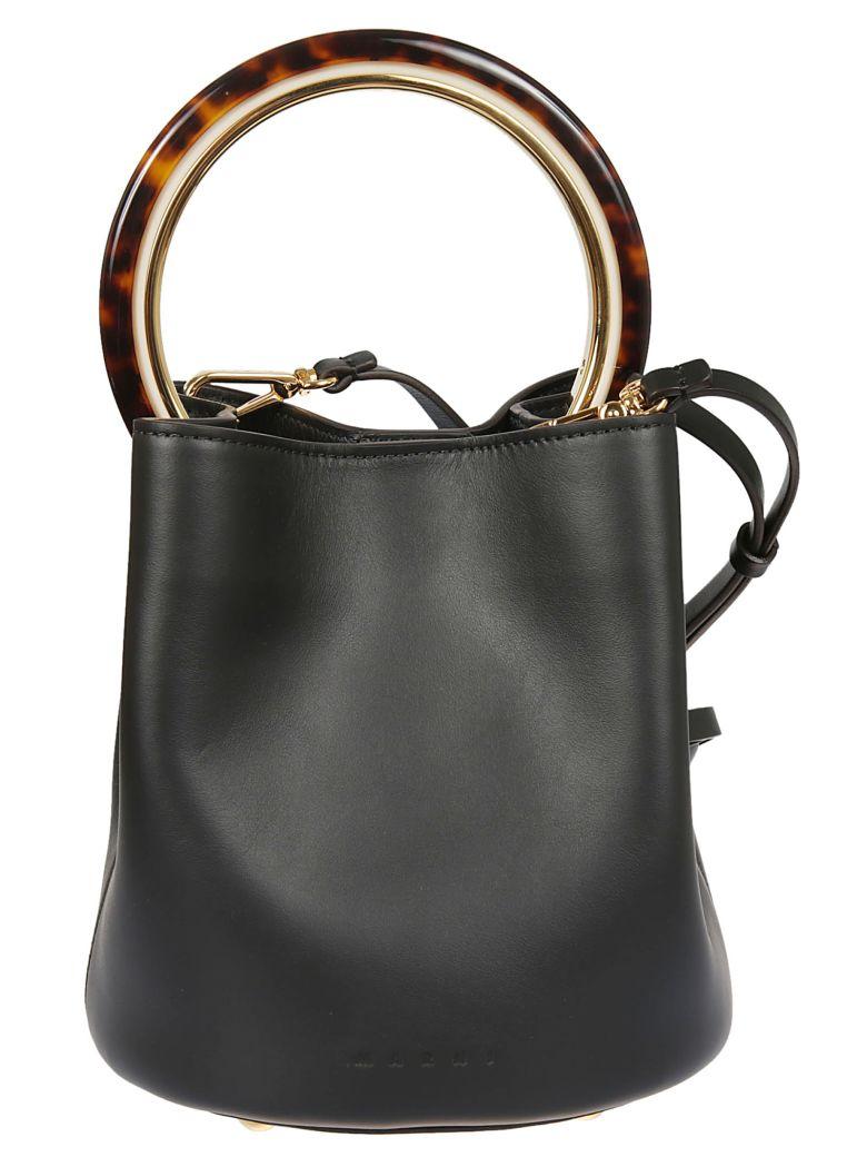 Pannier Bucket Bag, 00Nblack