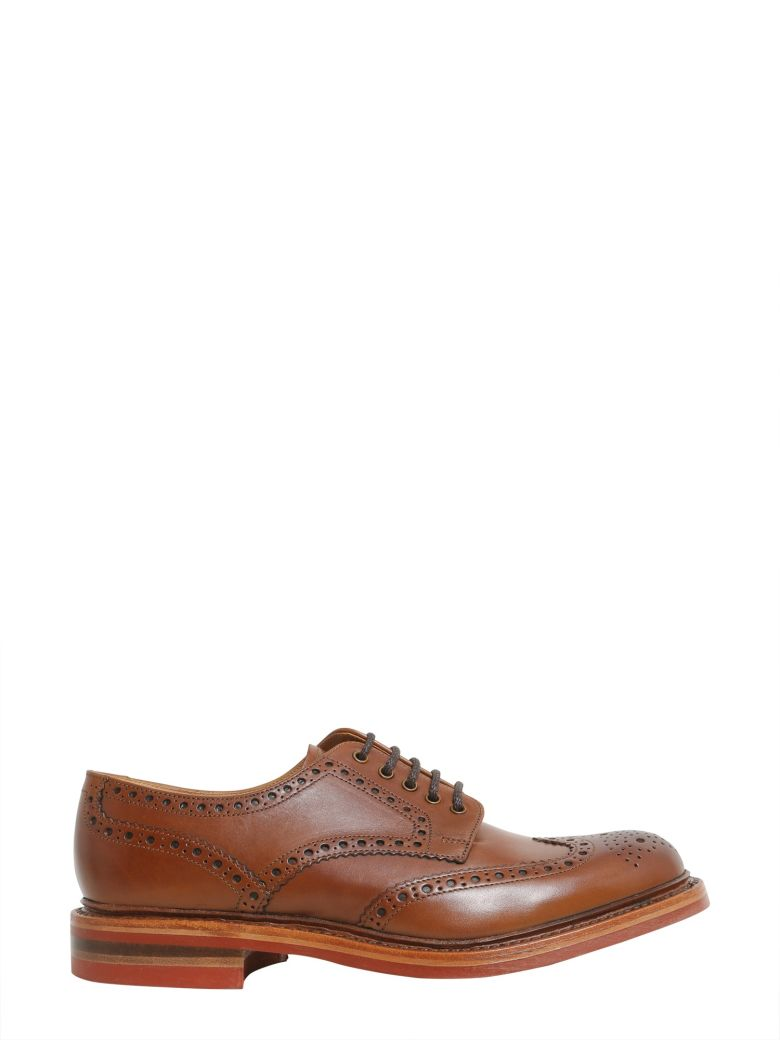 LOAKE Worton Wingtip Derby in Cuoio