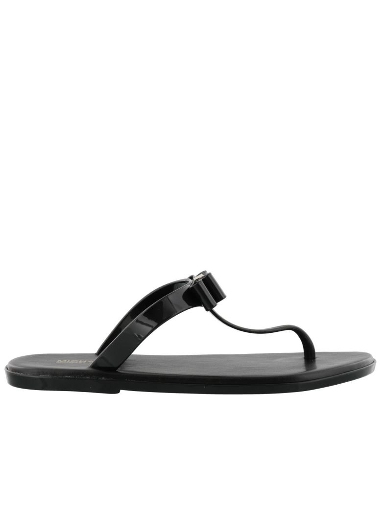 CAROLINE JELLY THONG SANDALS