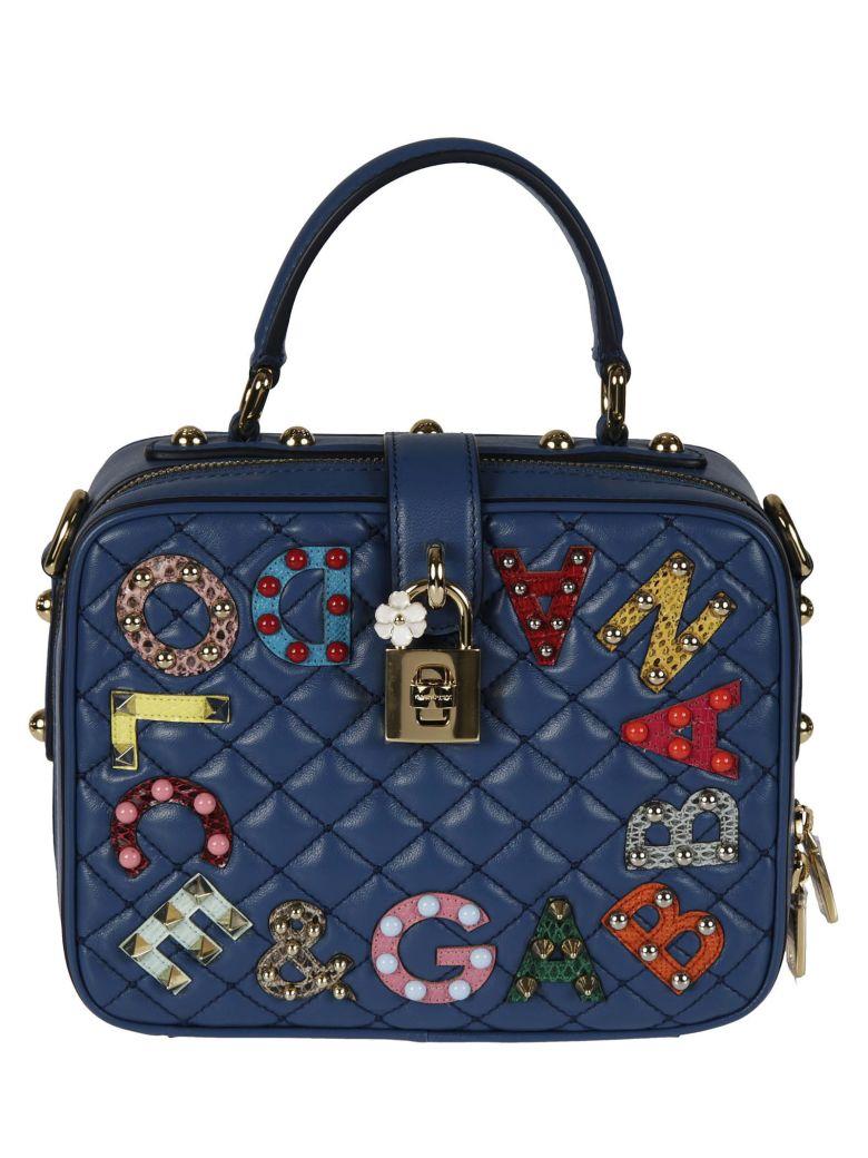 bf3274d9f9 Dolce   Gabbana Dolce Soft Shoulder Bag In Marine