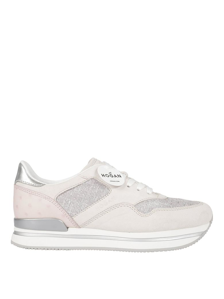 Hogan H222 Platform Sneakers In Rosa  928a4ec495d