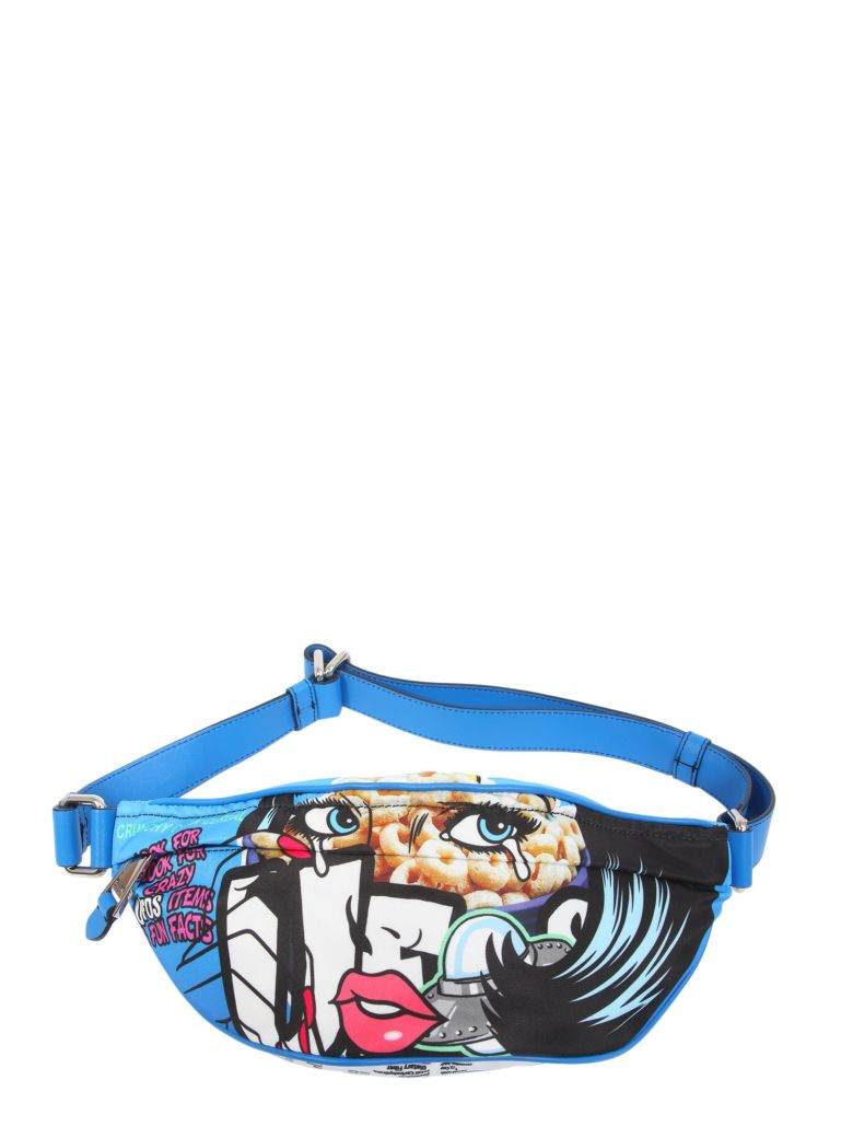 CAPSULE PRINTED BUM BAG