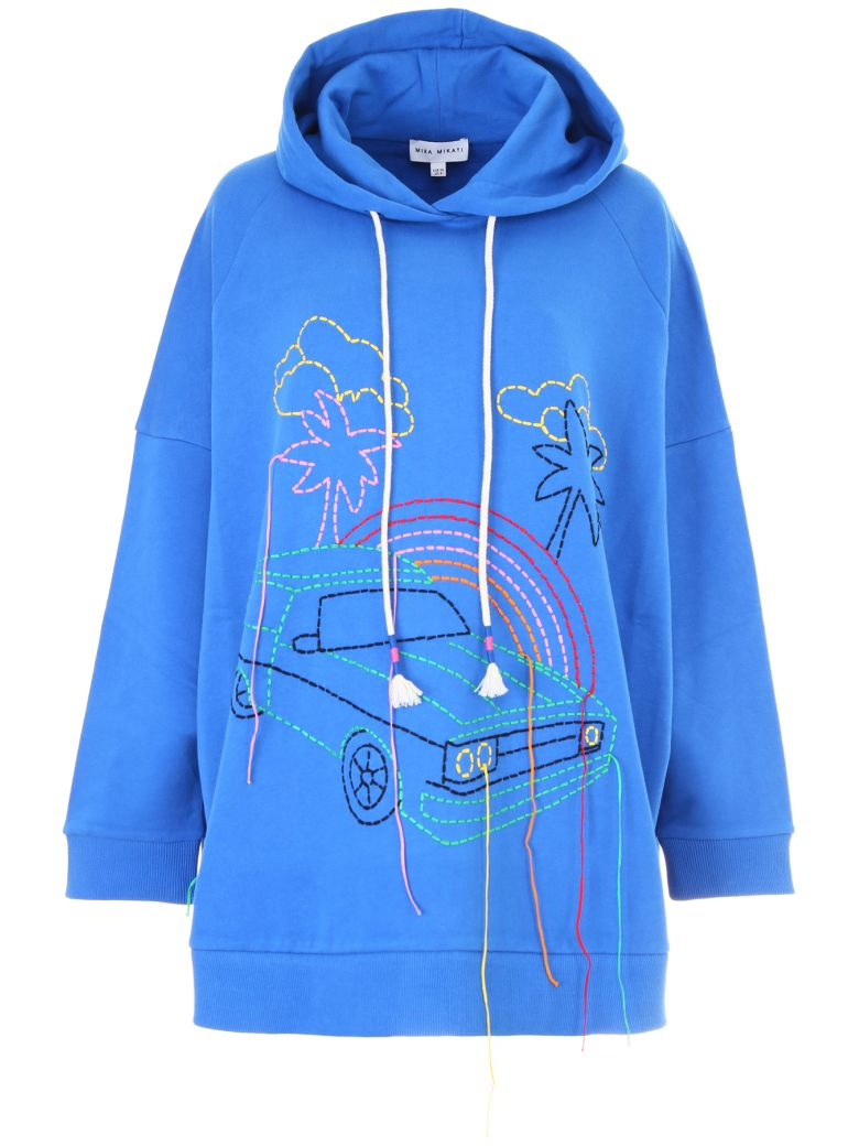 HAND-EMBROIDERED HOODIE
